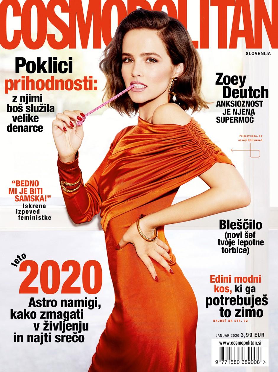 Novo leto, nove zaobljube, NOVI COSMO - naj bo leto 2020 nepozabno! (foto: Cosmopolitan Slovenija)