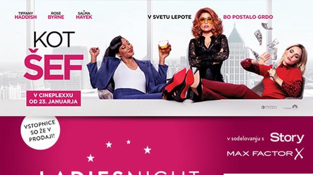Povabi prijateljico! V Cineplexx ponovno prihaja LADIES NIGHT - tokrat s filmom KOT ŠEF
