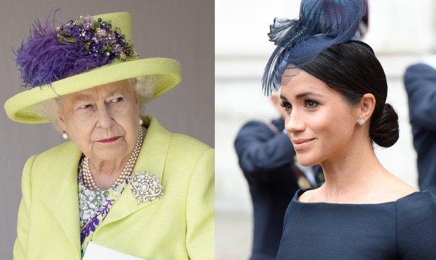 Kraljica je Meghan Markle PRED poroko ponudila TOLE, a je rekla NE (kako, prosim!?!) (foto: Profimedia)