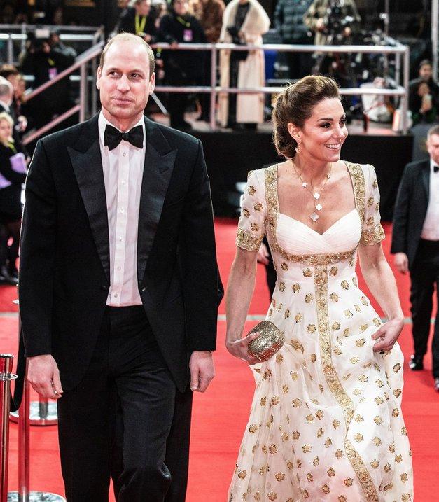 Kate in William: Poglej ta NEPRIJETEN trenutek včerajšnjih nagrad BAFTA (ups!) (foto: Profimedia)