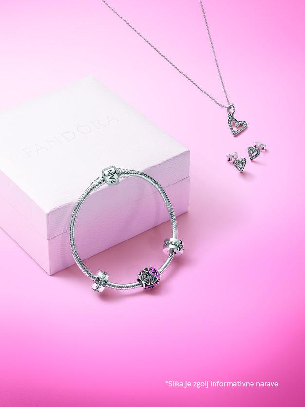 Obožuješ nakit Pandora? Do valentinovega imajo posebno AKCIJO! (foto: Promocijsko gradivo)