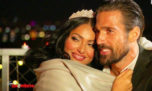 Goran Jurenec in njegova Hana (Gospodin savršeni) sporočila veselo NOVICO 🥰 (foto: PrtScr POP TV)