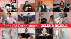 Prisluhni slovenskemu Band Aid in NOVI skladbi Zelena dežela'