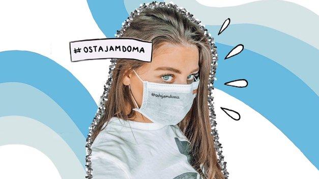 O, ne! Slovenska VPLIVNICA okužena s KORONAVIRUSOM (poglej njeno video-izpoved!) (foto: Instagram.com/tajacekuta)