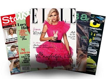 5 izbranih revij boš CELO LETO prebirala za ENKRATNO plačilo 10 € (ja, tudi Cosmo!) (foto: Arhiv AM)