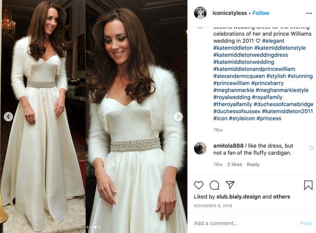 👉ČUDOVITA! 😍 Tudi v tej obleki je Kate naravnost blestela, zanjo pa je prav tako zaslužna Sarah Burton. Britanci so …