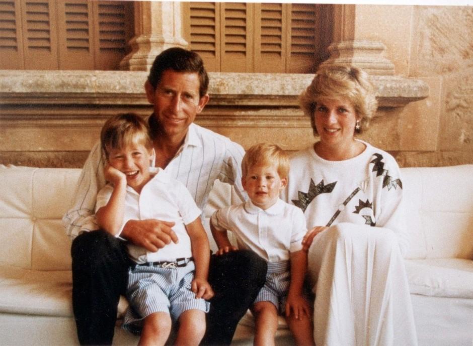 O, ne! TAKO grozljivo sta Harry in William izvedela, da Charles vara princeso Diano (foto: Profimedia)