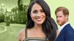 Harry in Meghan živita na Beverly Hillsu, in TO so fotke NOTRANJOSTI njunega doma (Uradno je!)