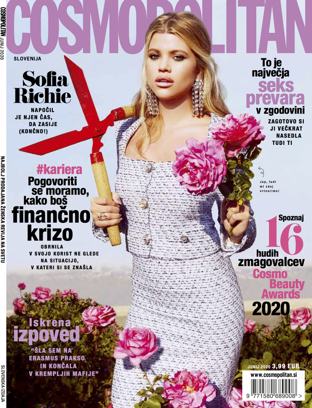 Novi COSMO: Tvoj NAJ priročnik za najboljše POLETJE do zdaj (z zgodbami, ki jih moraš prebrati) (foto: Cosmopolitan Slovenija)