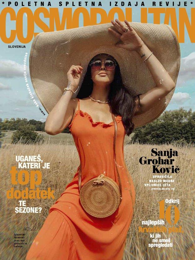 Poleg revije letos tudi BREZPLAČEN poletni E-COSMOPOLITAN (prenesi ga TUKAJ!) (foto: Cosmopolitan Slovenija)