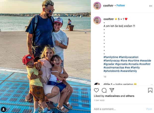 👉Teja in Jani sta se v družbi svojih otrok odpravila na top počitnice v hrvaški Zadar, ki je izjemno priljubljena …