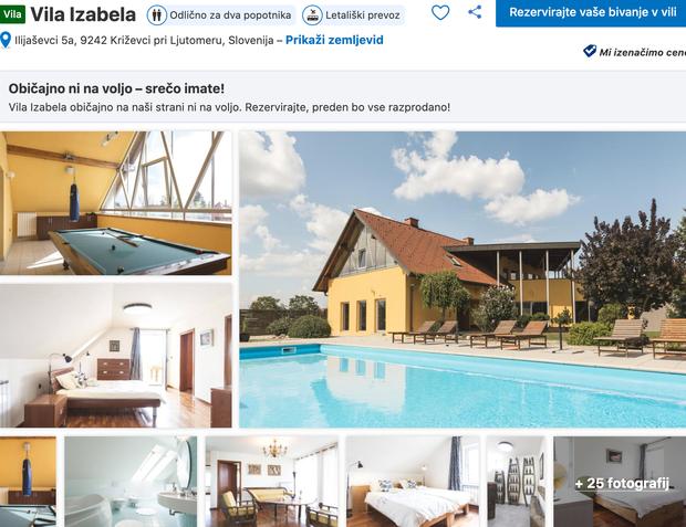 👉 #1 Vila Izabela Čudovita vila z bazenom, ki se nahaja v Križevcih pri Ljutomeru, ti ponuja razkošje, ki ga …