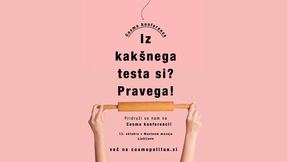 NAPOVEDUJEMO: Prihaja že 4. Cosmo konferenca (z najbolj HUDIM programom do zdaj!) (foto: Cosmopolitan Slovenija)