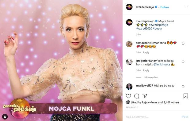 O priljubljeni igralki Mojci Funkl, ki ji v gledaliških krogih vsi veselo čestitajo za zmago v šovu Zvezde plešejo. Se …