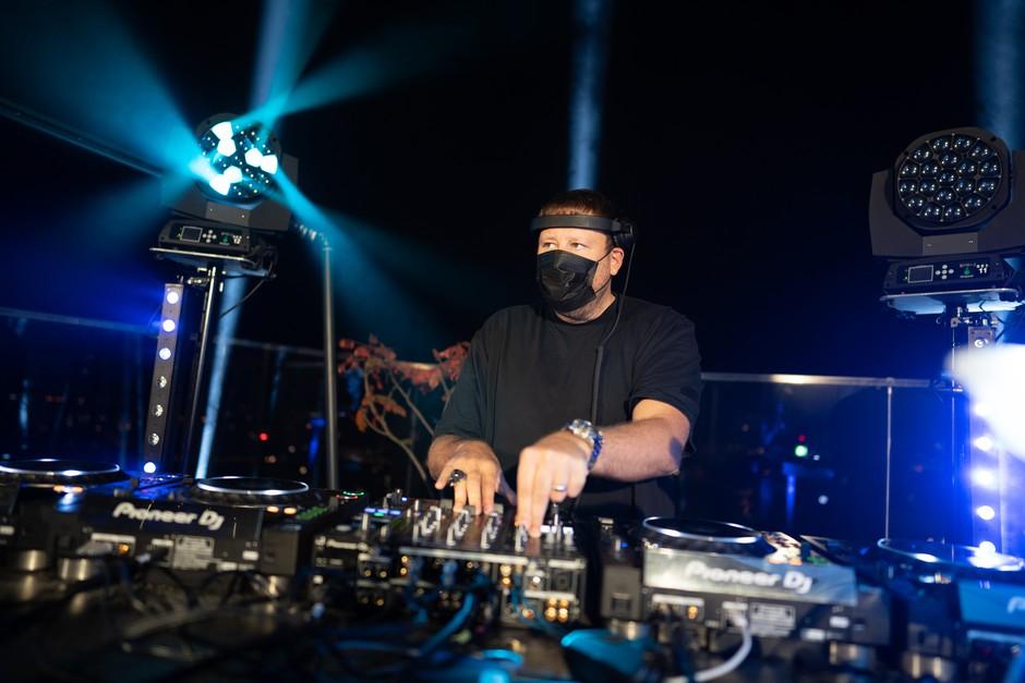 DJ UMEK nad Ljubljano pospremil prvi pojav Aurore (foto: Promocijsko gradivo)