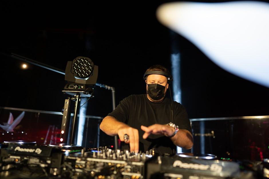 DJ Umek na premierni Aurori nad Ljubljano (foto: Promocijsko gradivo)