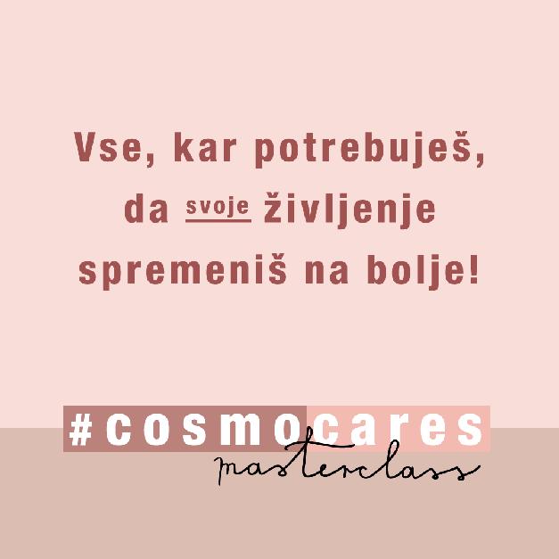 Cosmo MASTERCLASS: TO so predavatelji in PROGRAM (navdušilo te bo!) (foto: Cosmopolitan Slovenija)
