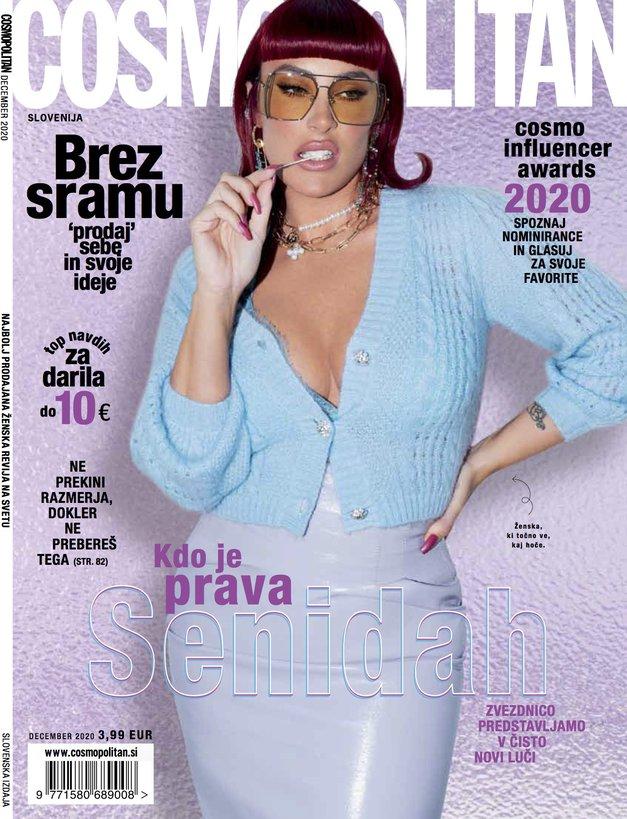 TO je edina Slovenka, ki bo letos krasila naslovnico Cosmopolitana (moraš jo spoznati!) (foto: Cosmopolitan Slovenija)