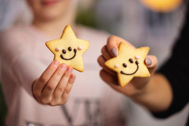 HOFERjevi Nasmeškotki pomagajo dijakom Botrstva (foto: Hofer)
