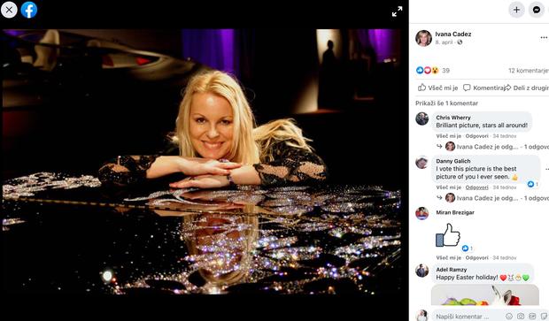 👉 Lucienne še vedno ostaja v glasbenih vodah, saj je glavna pianistka v najbolj prestižnem hotelu pri nas, Kempinski Palace …