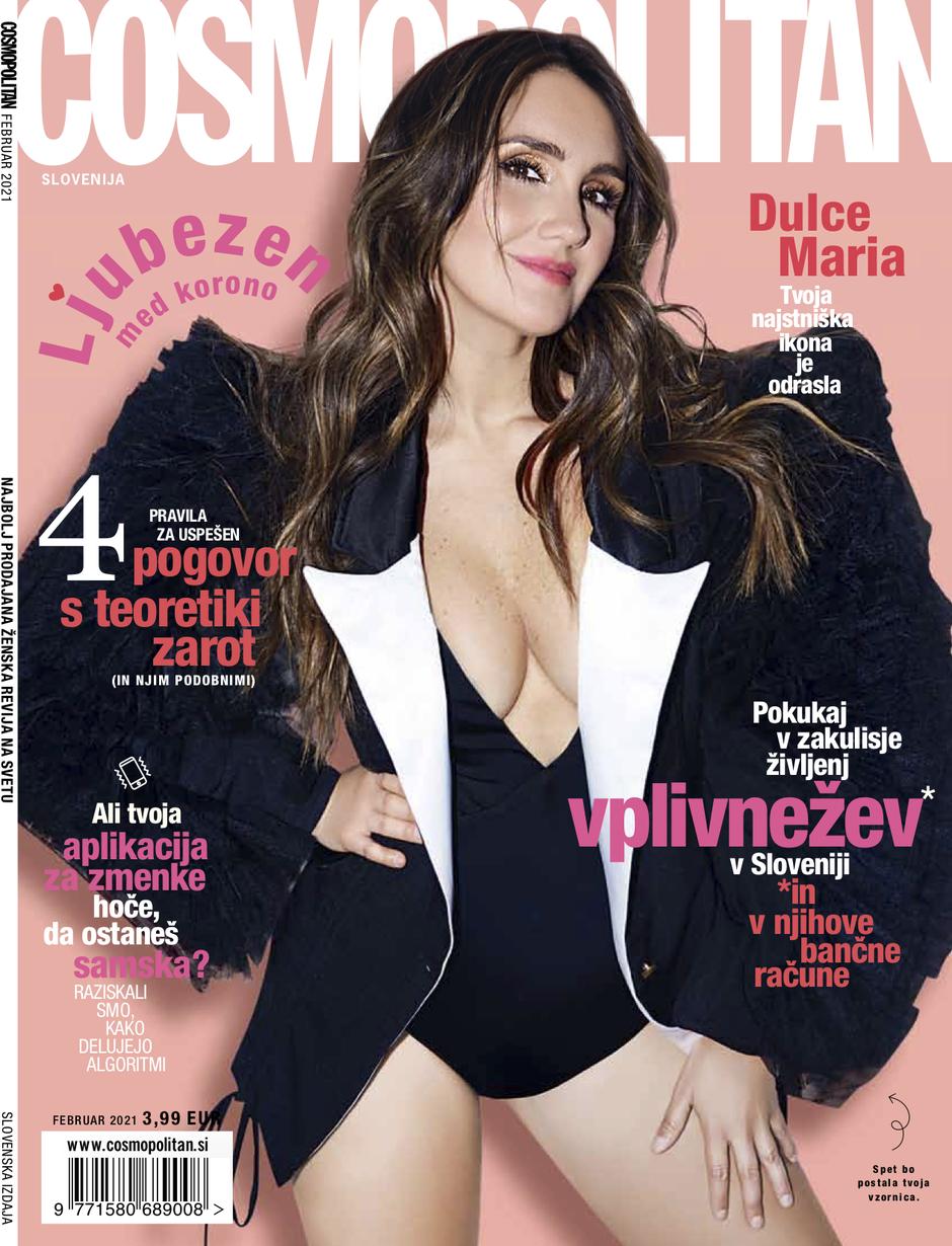 Ali se še spomniš naše februarske zvezde z naslovnice? (foto: Cosmopolitan Slovenija)