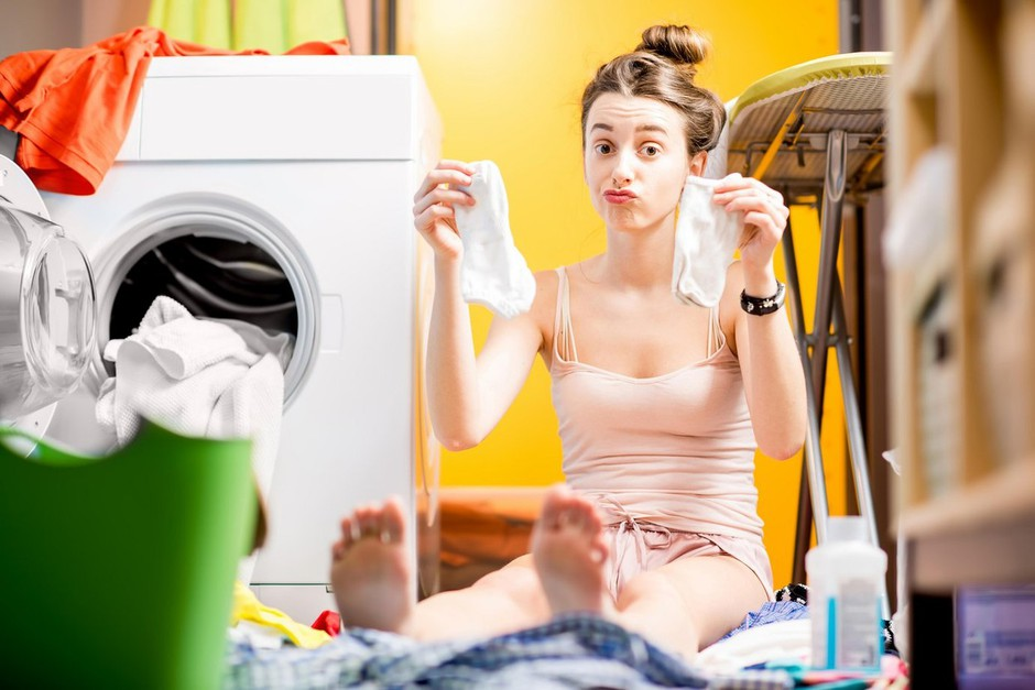 Hahahaha! Tako ti pralni stroj 'krade' nogavice (pojasnjujejo serviserji!) (foto: Profimedia)