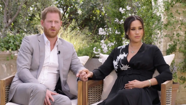 Ne samo ti in ves svet, tudi Meghan Markle je komaj čakala, da se Oprah intervju z njo in princem …