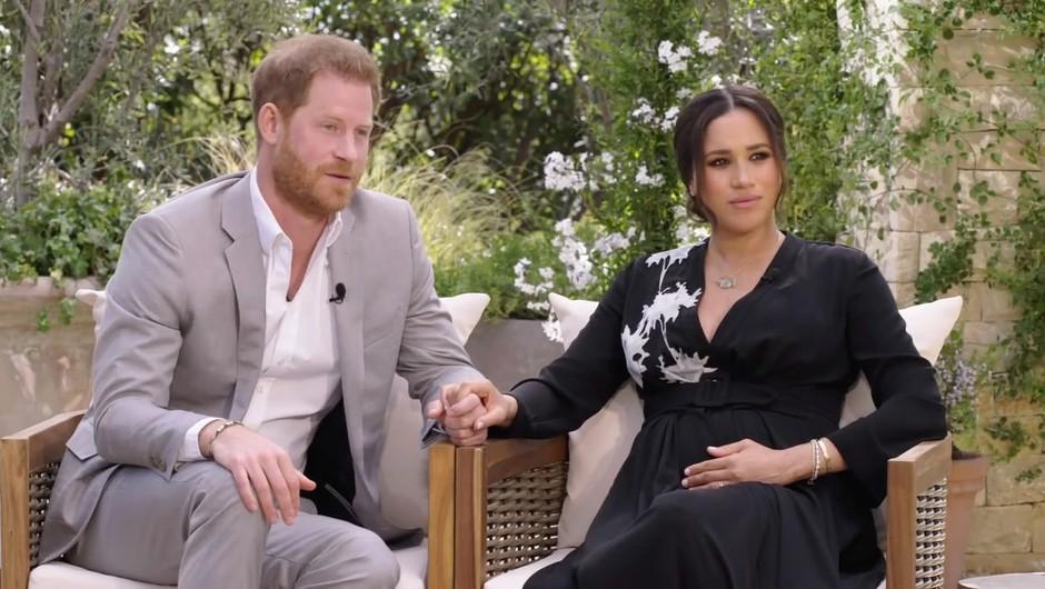 Iiiii! Meghan in Harry RAZKRILA spol drugega otroka (+ podrobnosti intervjuja z Oprah!) (foto: Profimedia)