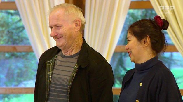 Wow! Marjan in njegova Tajka Pattyiz Ljubezen na vasi po šovu ŠOKIRALA (TO sta sporočila) (foto: POP TV printscreen)