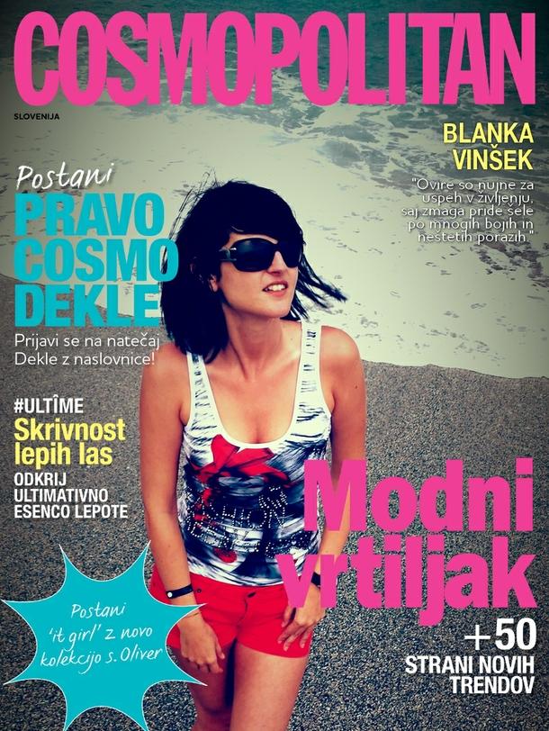 Blanka na naslovnici Cosmopolitana