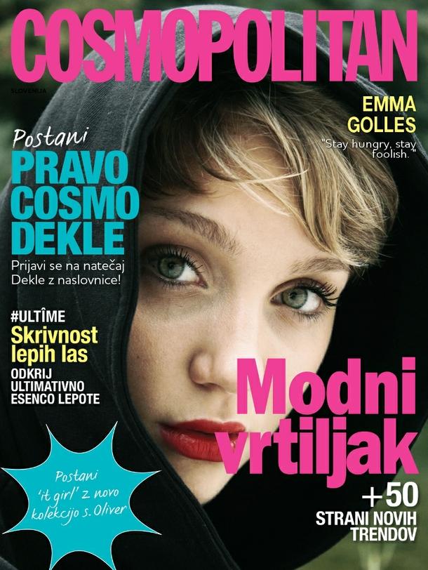 EMMA na naslovnici Cosmopolitana